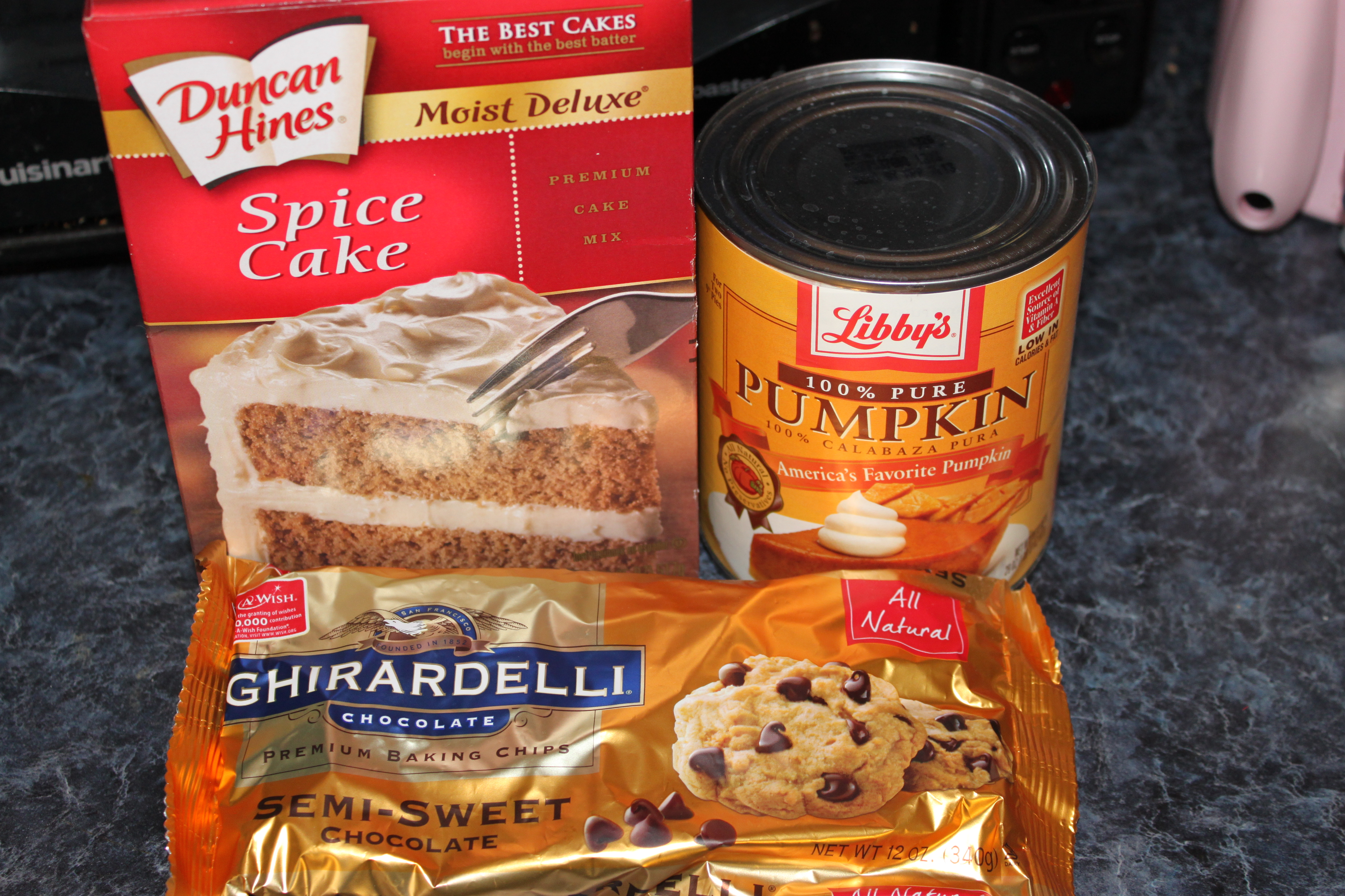 Pumpkin Chocolate Chip Cookies With Spice Cake Mix