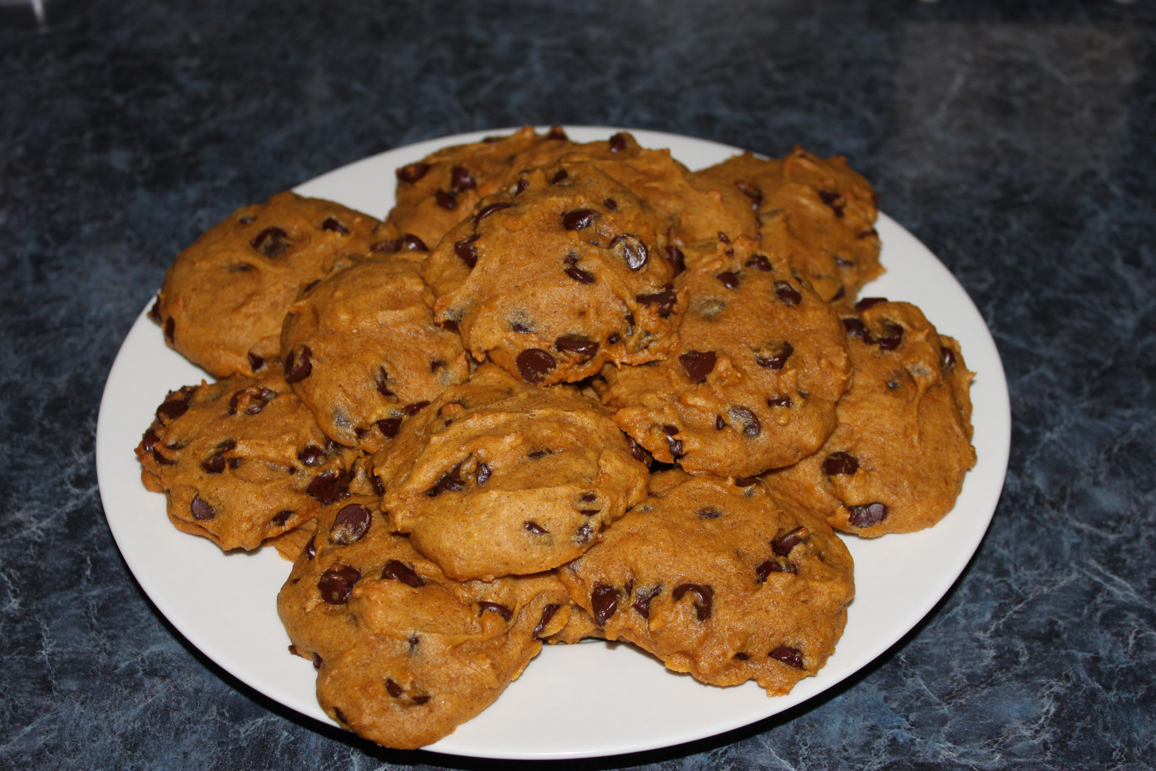 Pumpkin Chocolate Chip Cookies Two Ways | Alice in the Kitchen