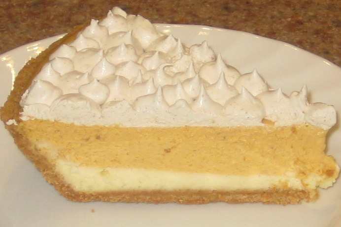 Double Layer Pumpkin Cheesecake | Alice in the Kitchen